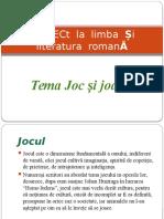 Proiect Joc&Joaca