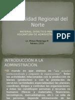 1. Material 1er Parcial - Administracion