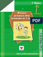 Guia Para Docentes 3basico Mate Ayuda Para El Maestro.com