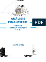 Analisis Financiero de Grana y Montero