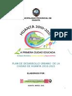 Pduh 2008 -2024 Huanta Urbana Version Actual 100%