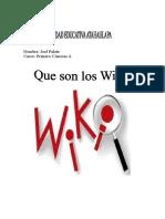 305579281 Que Son Los Wikis Microsft Word