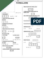 Formulaire d Electrotechnique