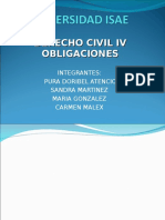 UNIVERSIDAD ISAE civil IV.ppt