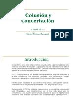 Clases 30-31 Colusión y Concertación