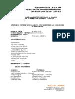 Informe Clinica Cede2