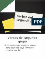 Verbos del 2° Grupo
