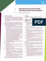 Standardowy Cennik Energii Elektrycznej Dla Konsumentów_17.02.2015r.