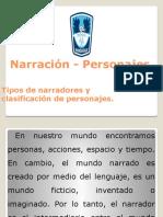 Narración - Personajes Iº