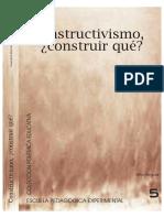 Dino Segura - Constructivismo- Construir Qué - EPE