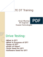 LTE DT Traininig_Umair Mumtaz_v0.1!05!11-13