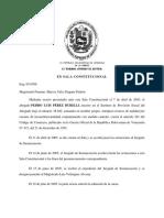 Sentencia 585 Del 12.05.2015 TSJ Sala Const. Modif Art 291 Cod de Comerc