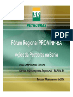Petrobras Na Bahia