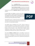 4 Abril- Dia Contra La Prostitucion Infantil