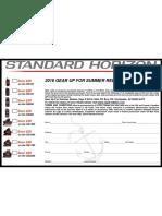 Standard Horizon 1-1-2016 2016 Gear Up for Summer Rebate