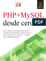 PHP + MySQL desde cero