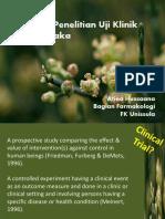 Metode Uji Klinik Fitofarmaka