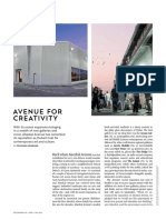 Avenue for creativity
