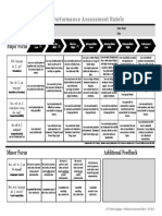 Assessment Rubric Sp. I S1 Copy