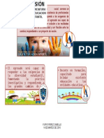 VISIÓN-PROGRAMA LIC.EDUCACIÓN INFANTIL
