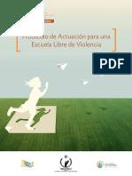 Protocolo Actuacion Escuelas Libres de Violencia MEX