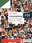 Informe Sobre Vulnerabilidad Social 2014