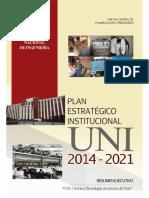 PE UNI 2014-2021 Resumen