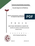 Síntesis,   caracterización    y aluación   microbiológica   ev de   compuestos   Espiro -β- lactámico