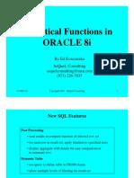 Oracle8iAnalFxn
