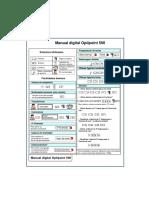 Manual digital Optipoint 500