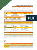 Formulario de Datos de Candidato