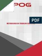 Livro Didático - Metodologia Do Trabalho Cientifico