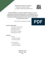 CONFIGURACION DEL ESPACIO ARQUITECTONICO EN EL SITIO ARQUEOLOGICO HUACAS DEL SOL Y DE LA LUNA PARA EL INTERMEDIO TARDÍO