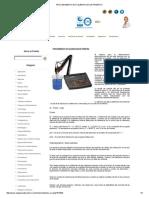 Procedimiento de Calibracion de pHmetro