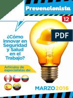 Revista El Prevencionista 12ava Edición