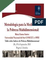 Ophi 1 Metodologia Para La Medicion de Md Poverty