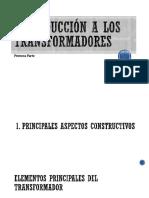 Introducción a Los Transformadores-Principios de Construcción.