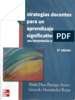 Díaz Barriga. Estrategias Docentes Para Un Aprendizaje Significativo. Capítulo 2