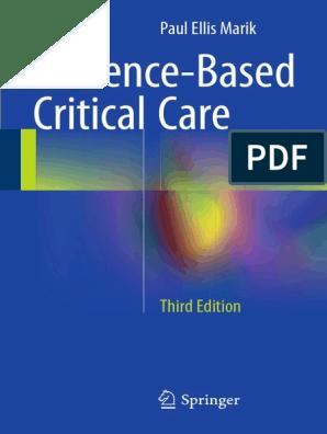 Evidence-Based Critical Care | Sepsis | Pneumonia