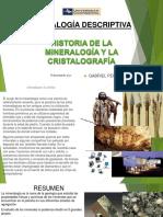 Historia de La Mineralogía y La Cristalografía