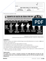 Resolucao Desafio 6ano Fund2 Portugues 2014