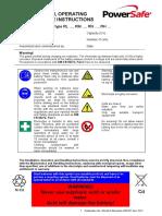 PowerSafe IOM Standard Range