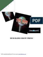 Hub Radio Show Press