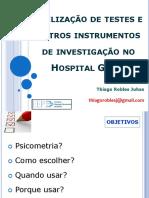Instrumentos No HG