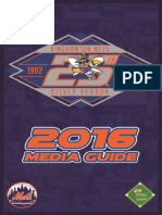 2016 Binghamton Mets Media Guide