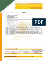 SGI-P-GE-122 Rev.0 Procedimiento Estandar de Bodegas de Almacenamiento de Sustancias Quimicas