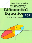 Earl Coddington - An Introduction to Ordinary Differential Equations