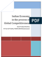 India and Global Competitiveness