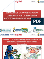Semilleros de Investigacion 1,2