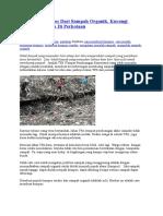 Membuat Kompos Dari Sampah Organik